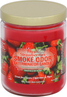 Fresh Strawberries Odor Exterminator Candle