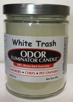 White Trash Odor Eliminator Candle