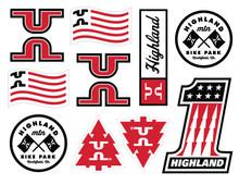 Highland Sticker Sheet