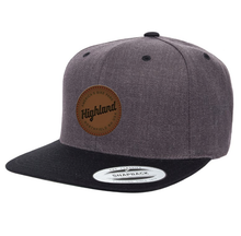 Leather Patch Snapback