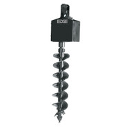 """750CL Auger Drive, Round - No Mount (Includes Top Link, 100"""" Hoses and Couplers) - CE Certified"""