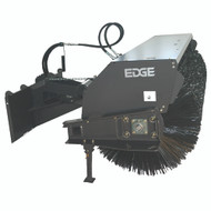 "72"" Angle Broom with Hydraulic Angle - Single Motor (All Poly)"