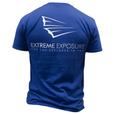 Royal Blue EE Shirt- Back