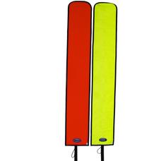 Halcyon Big DAM: Orange, Open bottom, 4.5' - Blem