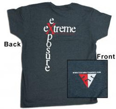 Extreme Exposure Logo Tee Shirt -- Ladies'