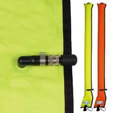 Diver's Alert Marker, 3.3' oral inflate only , No OPV