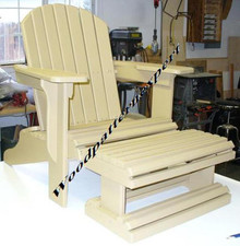 ADIRONDACK CHAIR WITH FOOT REST PDF Download Plans SO YOU CAN GET IT NOW! Detailed Step By Step DIY Patterns SO EASY BEGINNERS LOOK LIKE EXPERTS by WoodPatternExpert; ProStore