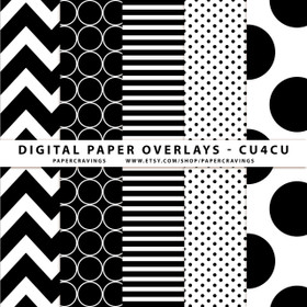 """Digital Paper Overlays - 12"""" x 12"""" and 8.5 x 11"""" (Set 1) INSTANT DOWNLOAD"""
