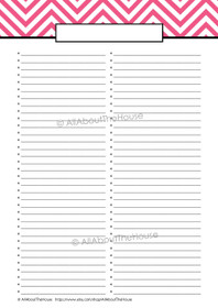 Anything List - 2 Columns - EDITABLE - pi3 - INSTANT DOWNLOAD