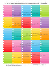 Mickey Mouse Inspired List Planners Stickers Printable - ECLP Full Box (or any planner)