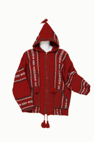 Warrior Jacket Red with Hoot