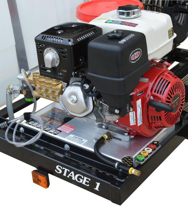 SIMPSON 95003 STAGE 1 Pressure Washer Trailer System