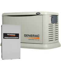 Generac Guardian 22kW Home Standby Generator With 200Amp SE ATS (Not CUL) 6551