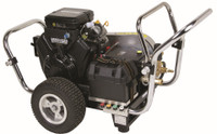 SIMPSON WS4050-V WaterShotgun 4000 PSI @ 5.0 GPM, Belt Drive Pressure Washer Electric Start