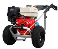 SIMPSON ALH4240 Aluminum 4200 PSI @ 4.0 GPM, Gas Pressure Washer HONDA GX390 ENGINE