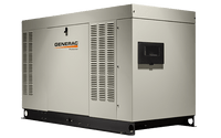 Generac RG04854C Protector Series Alum 48kW 1800RPM SCAQMD Compliant Standby Generator