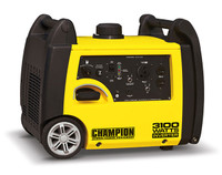 CHAMPION 75531i 3100 Watt INVERTER Generator - Super Quiet! CARB