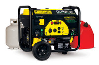 CHAMPION 76533 3800Watt Dual Fuel Gasoline/LPG Portable Generator Electric Start CARB