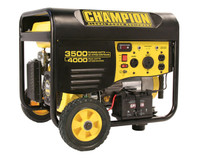 CHAMPION 46539 3500/4000 Watts - Portable Generator Remote Electric Start CARB Compliant