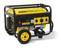 CHAMPION 46597 3500/4000 Watts - Portable Generator W/ Wheel Kit