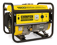 CHAMPION 42436 1200/1500 Watts - Portable Generator