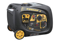 Firman W03083 Portable Gas  3000/3300 Watt Inverter Generator w/Remote Electric Start