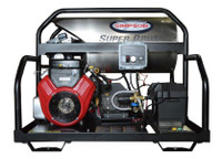 Simpson SB3555 SUPER BRUTE 3500PSI 5.5 GPM HOT WATER  VANGUARD 18HP COMET PUMP