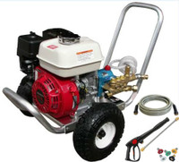 Pressure-Pro PPS2533HCI 3300 PSI @ 2.5 GPM, Pressure Washer HONDA GX200 ENGINE  CAT Pump