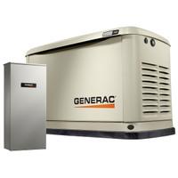 Generac 70391  Guardian Series 20kW with Mobile Link Home Standby Generator 1ph Alum Enclosure, 200SE Nema 3R ATS