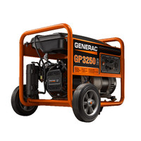 Generac GP3250 Watt Portable Generator CARB Compliant 5789