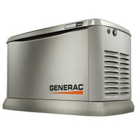 Generac Guardian 15kW EcoGen, Synergy Generator 7163 1ph Alum Enclosure
