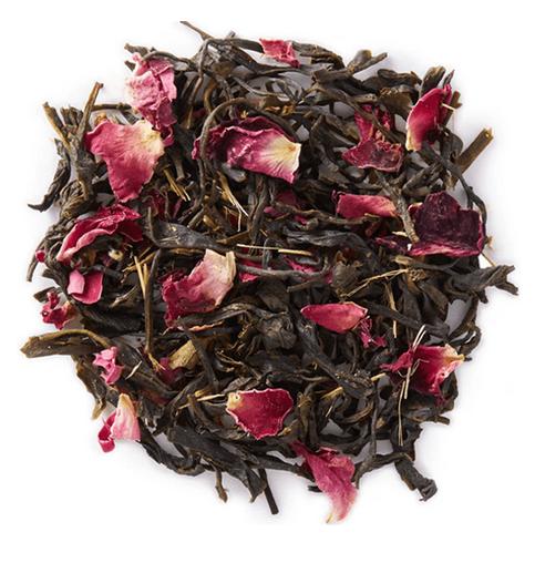 Flowering Rose Green Tea - Mountain Maus Remedies