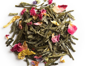Green Tea with Lavender and Roses