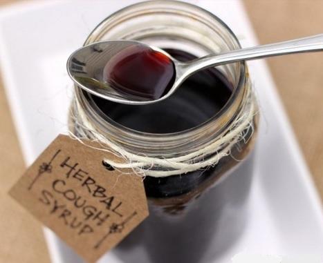 Elderberry cough syrup