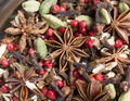 This is one tea that's perfect for the fall and even through the winter. Ingredients:  Chicory roasted root, Pink Peppercorns, Cardamom, Star Anise, Cinnamon, Cloves, Calendula petals and Ginger root.