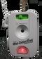 Wet-Detective flashing alarm.