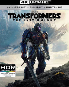 Transformers: The Last Knight - 4K UHD (Digital Code) - Please Read Description