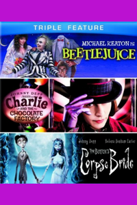Beetlejuice, Charlie and the Chocolate Factory, Corpse Bride - UV HDX (Digital Code)