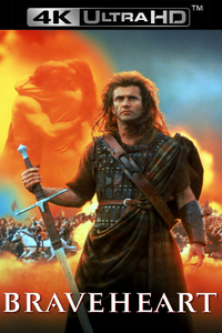 Braveheart - 4K UHD (Digital Code) - Please Read Description