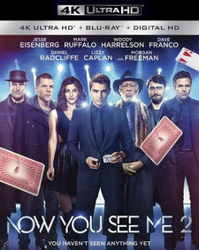Now You See Me 2 - 4K UHD at Fandango (Digital Code) - Please Read Description