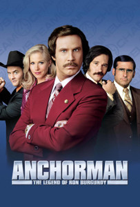 Anchorman: The Legend of Ron Burgundy - Vudu HD (Digital Code)