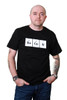 Periodic BaCoN Mens T-shirt - Black - Blue or Pink