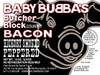 Baby Bubba's Butcher Block Hickory Smoked Peppered Bacon