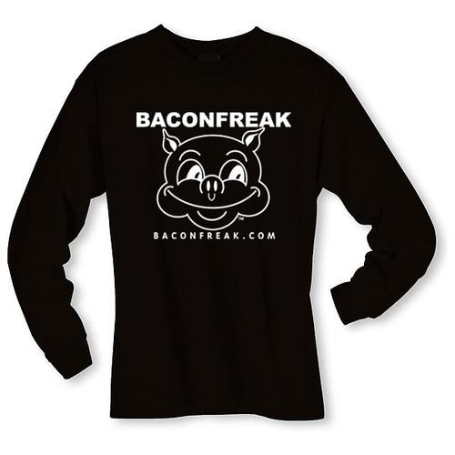 Bacon Freak (Original Pig) Long Sleeve Shirt