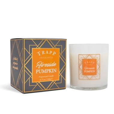 Trapp Fragrances Seasonal Fireside Pumpkin Candle