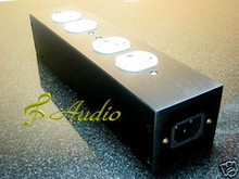 4-Pos Thick Aluminum Power Distributor for Hi-End Audio