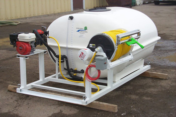 400, 500, 636 Gallon (flanged style) - Jet Agitation - Lawn Care Skid Unit - Pickup/Truck/Trailer Mountable