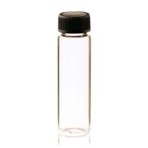 4 Dram Clear Glass Vial - w/ Screw Cap