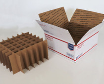 Partitions for USPS  Large Flat rate Box with 49 Cells (Fits 49 - 30ml or  60ml Bottles) - MOQ 100