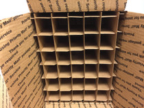 Partitions for USPS  Medium Flat rate Box with 30 Cells (Fits 30 - 30ml or  60ml Bottles) - MOQ 100